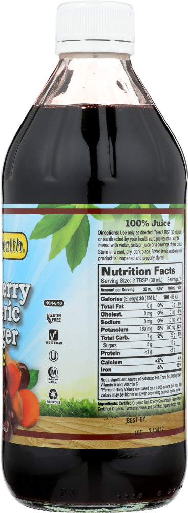 DYNAMIC HEALTH: Tart Cherry & Ginger Tonic, 16 fl oz