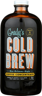 GRADYS COLD BREW: Coffee Cold Brew Concentrate, 32 oz