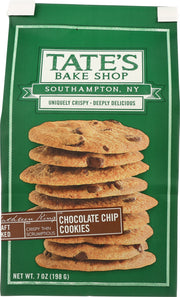 TATE'S BAKE SHOP: Chocolate Chip Cookies, 7 oz