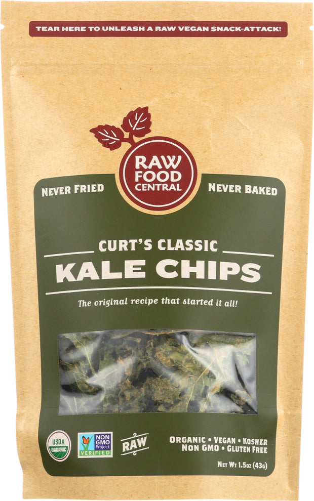 RAWFOOD: Curt's Classic Kale Chips, 1.5 oz