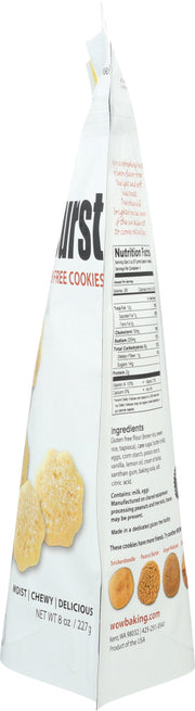 WOW BAKING COMPANY: Cookies Gluten Free Lemon Burst Cookies, 8 oz