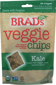 BRAD'S RAW FOODS: Vegan Chips Kale, 3 oz