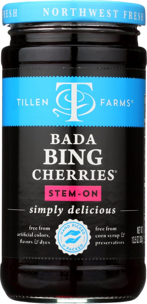 TILLEN FARMS: Bada Bing Pitted Cherries, 13.5 oz