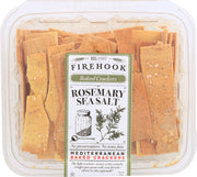 FIREHOOK: Rosemary Baked Cracker, 7 oz