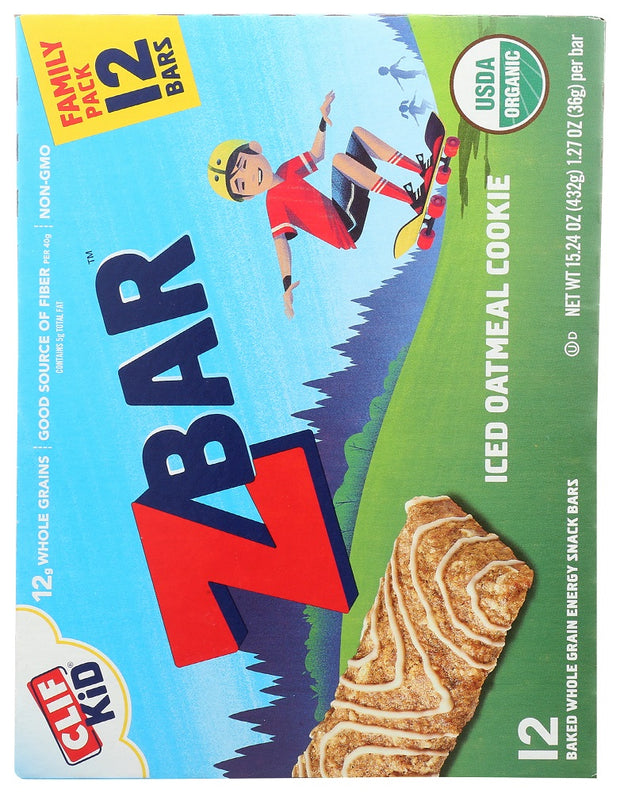CLIF KID: ZBar Iced Oatmeal Cookie Family Pack, 15.24 oz