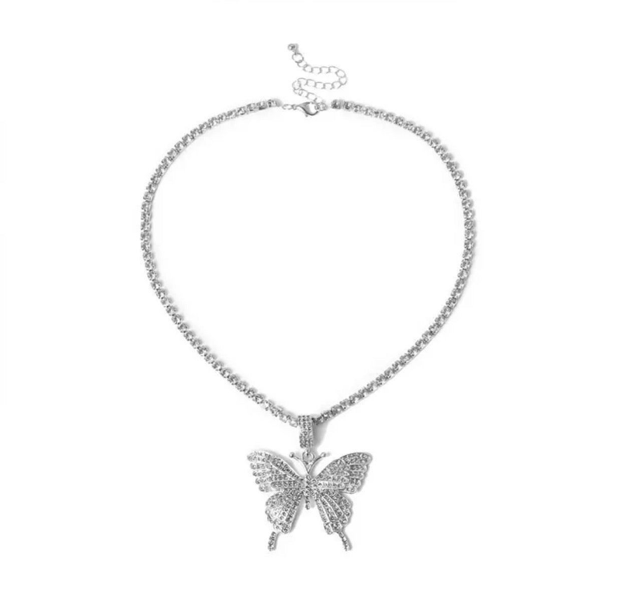 'Icy Butterfly Necklace'