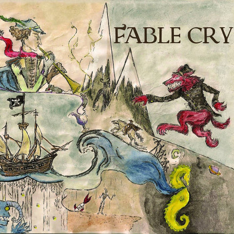 Autographed Fable Cry CD