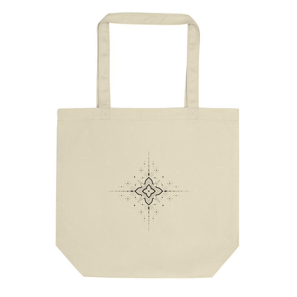 Organic Tote Bag 'Ornament I' by Slavena