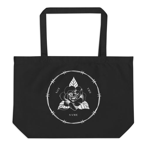 Large organic tote bag 'Not the same'  by Ricardo