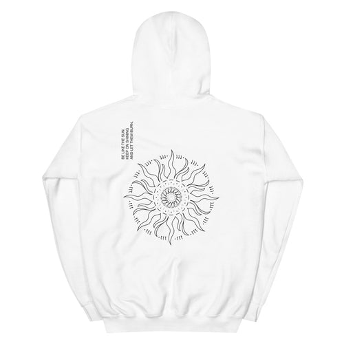 'Be like the sun' Heavy Hooded Sweatshirt by xoxotattoo