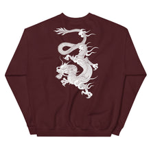 Load image into Gallery viewer, 'Dragon' Dark Sweatshirt by Elin (more colors)