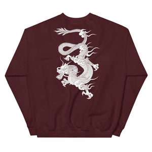 'Dragon' Dark Sweatshirt by Elin (more colors)