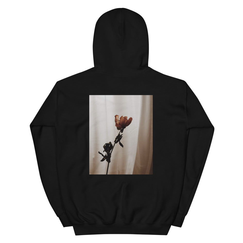 'Rose' Heavy Hooded Sweatshirt
