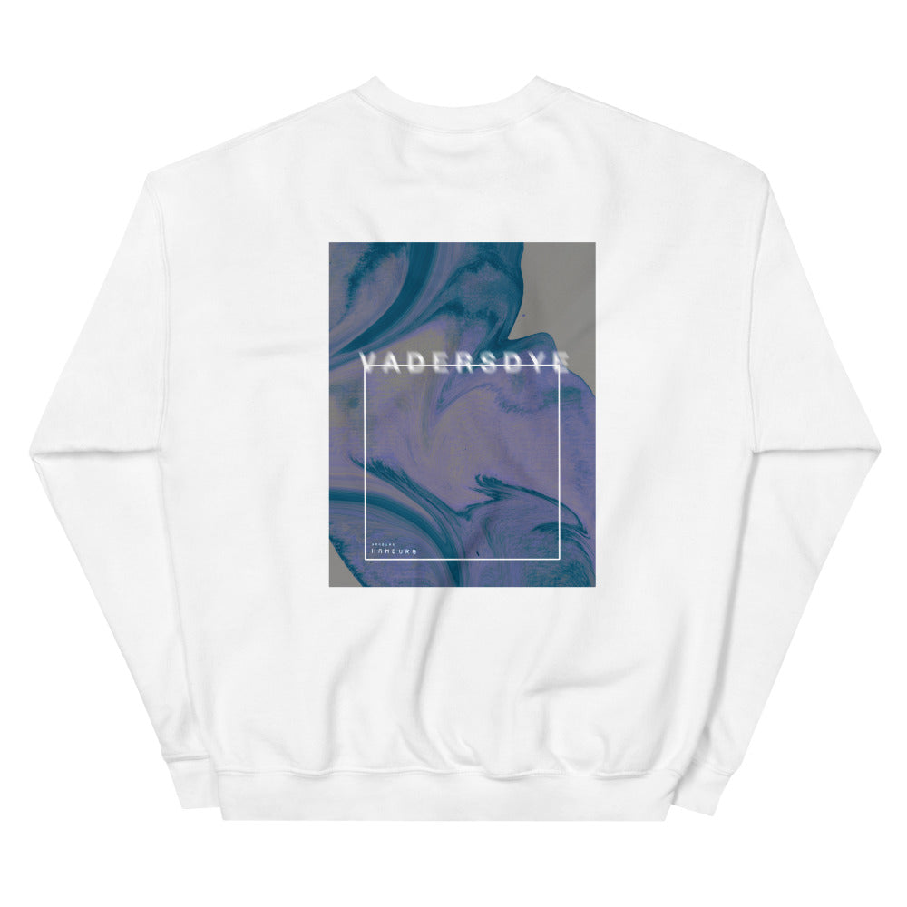 'Blurry VD Hamburg' Sweatshirt No.3 by Ali (more colors)