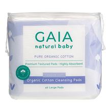 Load image into Gallery viewer, Organic Cotton Cleansing Pads 40pk