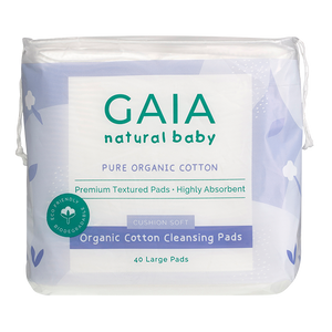 Organic Cotton Cleansing Pads 40pk