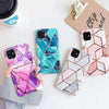 Levana iPhone Case Protective Plating Line Geometric Marble iPhone Case (4 Colors)