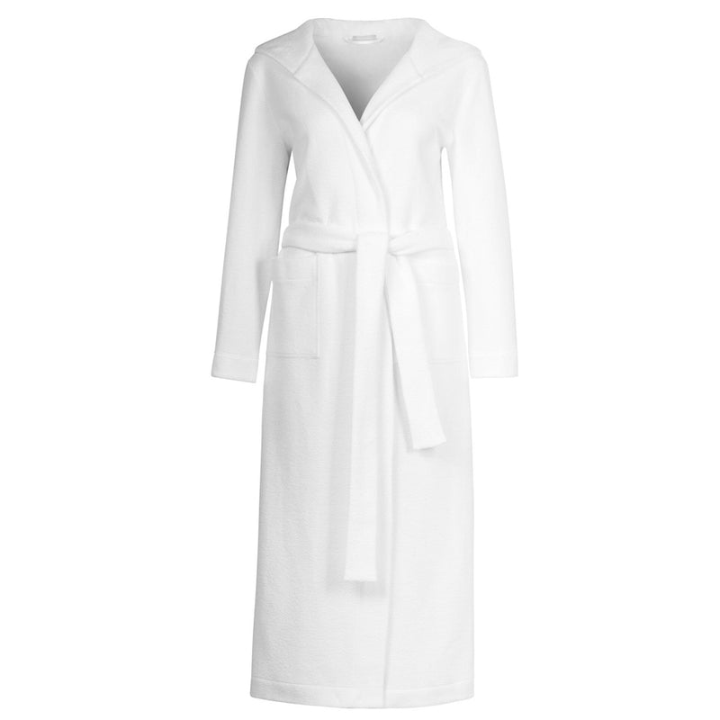 Plush Long Robe with Hood