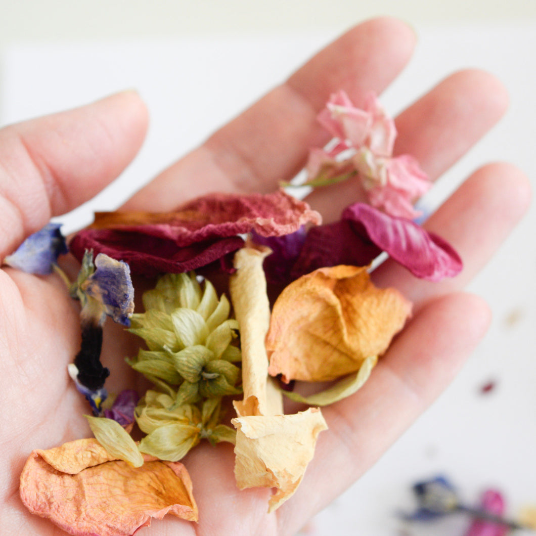 Dried Hops and Flower Confetti 10 pack