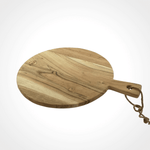 Acacia Wood Round Serving Board - Large