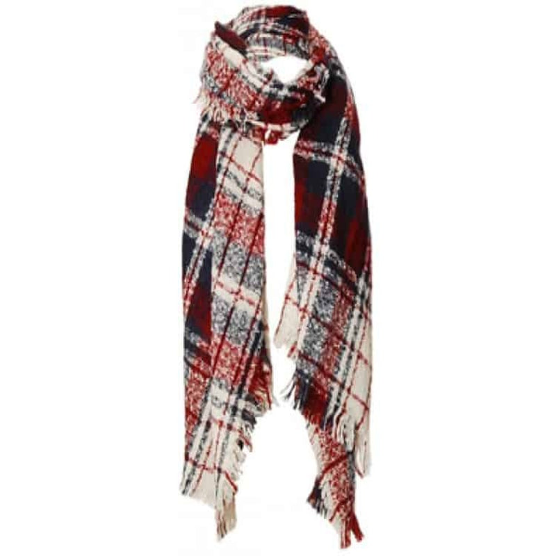 Aria Scarf - Red & Blue