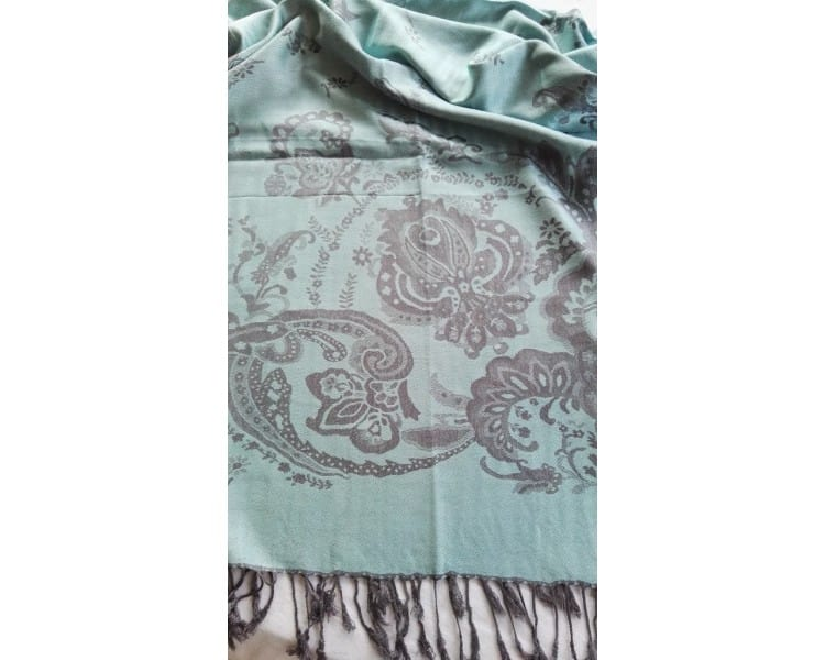 Cameo Scarf - Mint Green