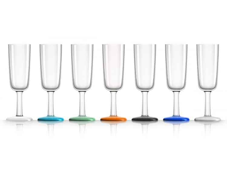 Unbreakable Champagne Glass - Set of 4 - Marc Newson Drinkware