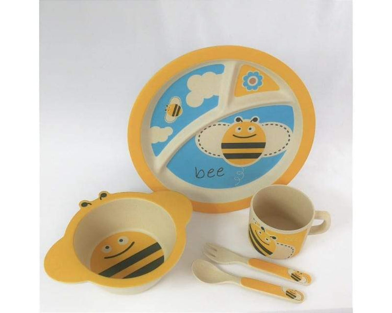 Childrens Eco Dinner Set - Bumble Bee