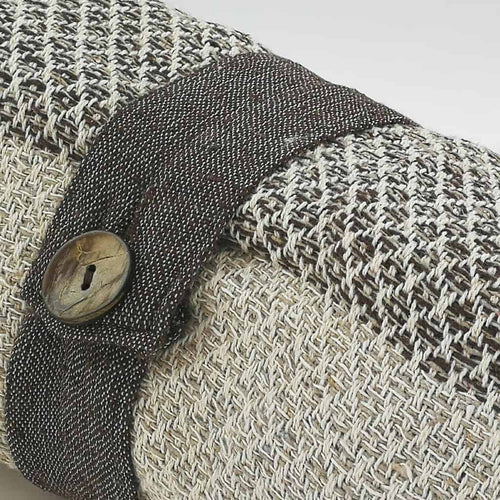 Cotton Diamond Throw - Natural