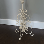 Gothic Style Candle Stick - Cream
