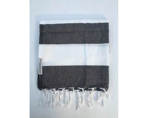 Picnic Towel - Margaux Black & White