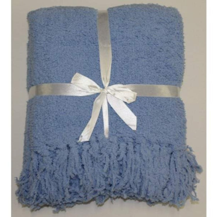 Boucle Throw - Placid Blue