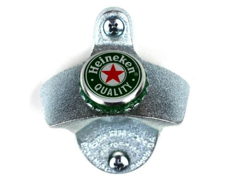 Wall Mounted Bottle Opener - Mount your own