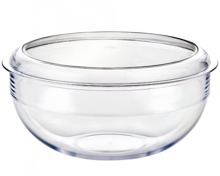Palm Unbreakable Salad Bowl and Lid
