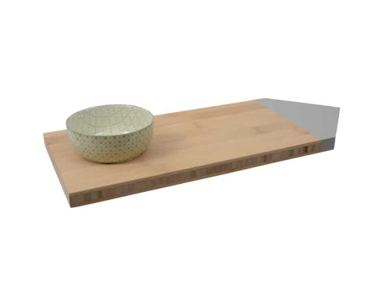 Bamboo Serving Board - Medium Grey