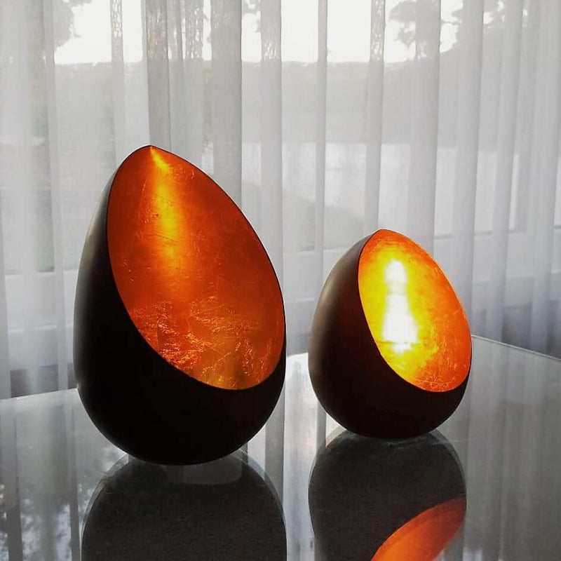 Sparkle Copper Tealight Candle Holders - Large