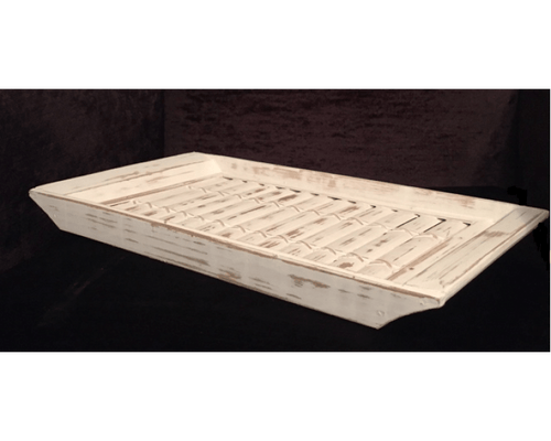 White Wash Tray - Small