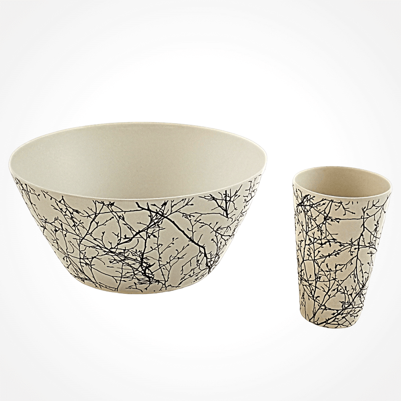 Bamboo Salad Bowl - Twig