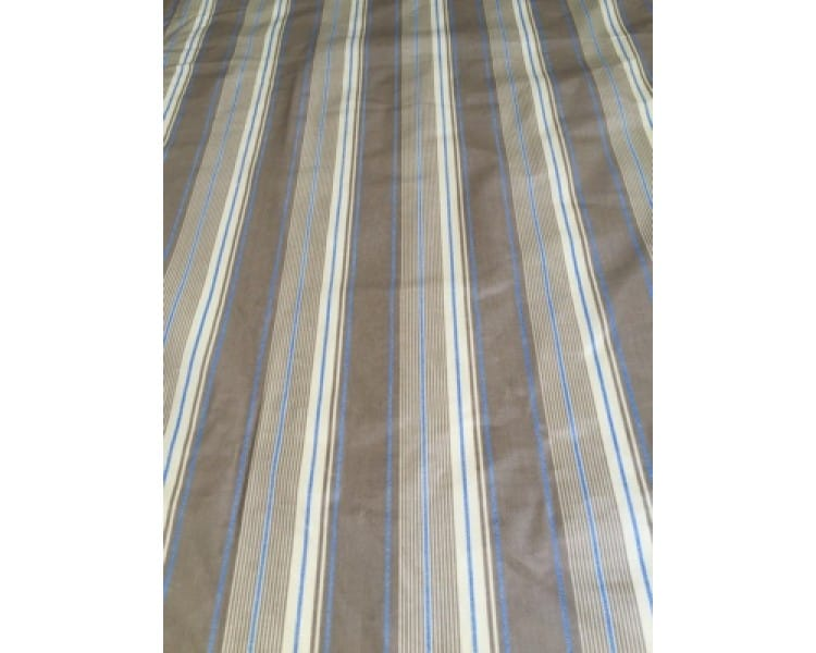 Laminated Tablecloth - French Stripe