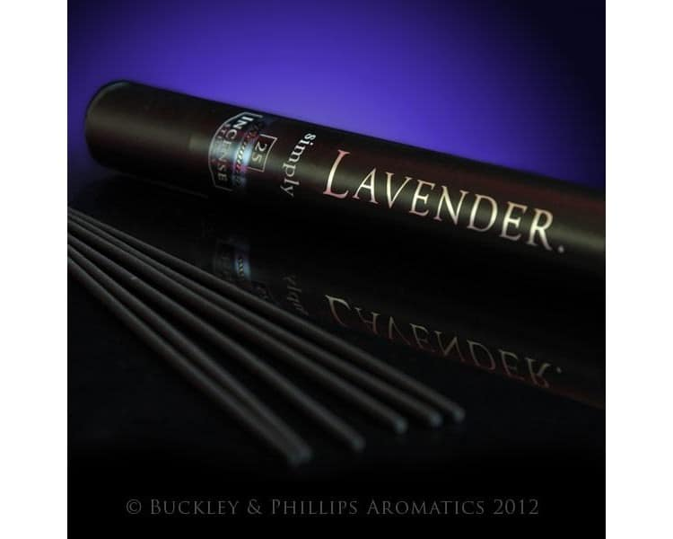 Simply incense lavender