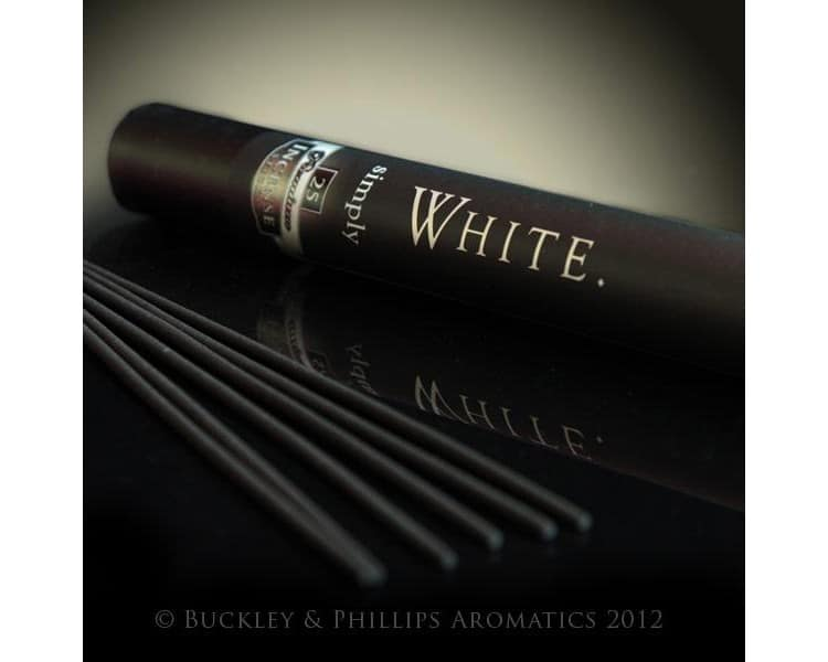 Simply incense white