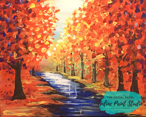 Fall Painting Bundle Tutorial
