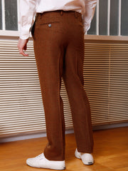 """Scots Redhead"" vintage tweed slim city trousers bari"