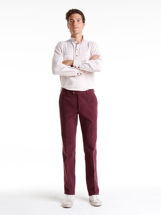 "pantalon ""winter cotton"" pinot noir"