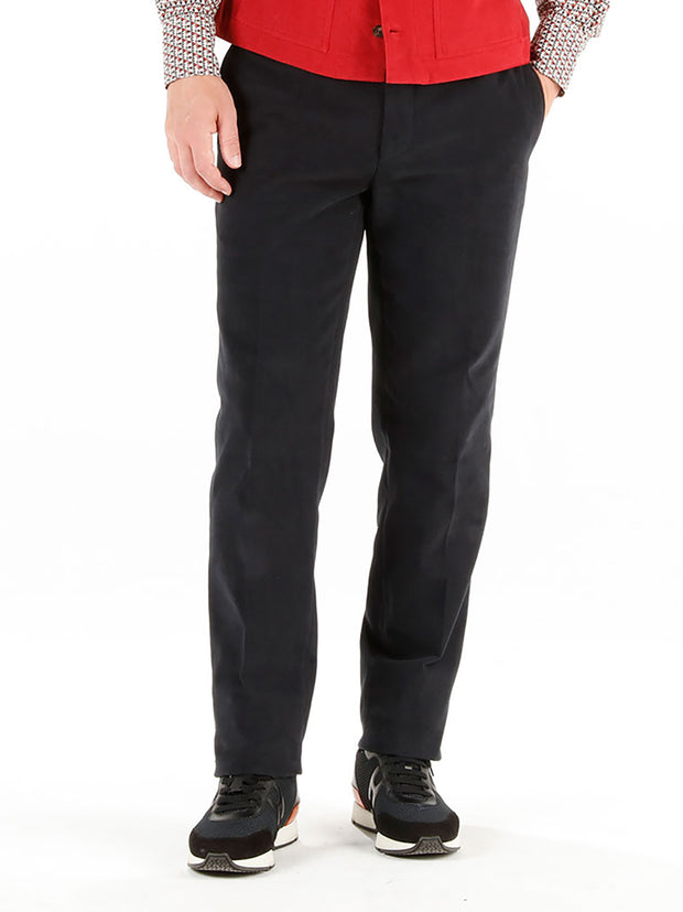 "pantalon bari en ""winter cotton"" noir"
