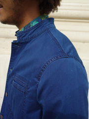 indigo summer denim Architect jacket