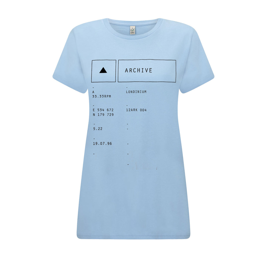 Londinium Ladies Lt Blue T-Shirt