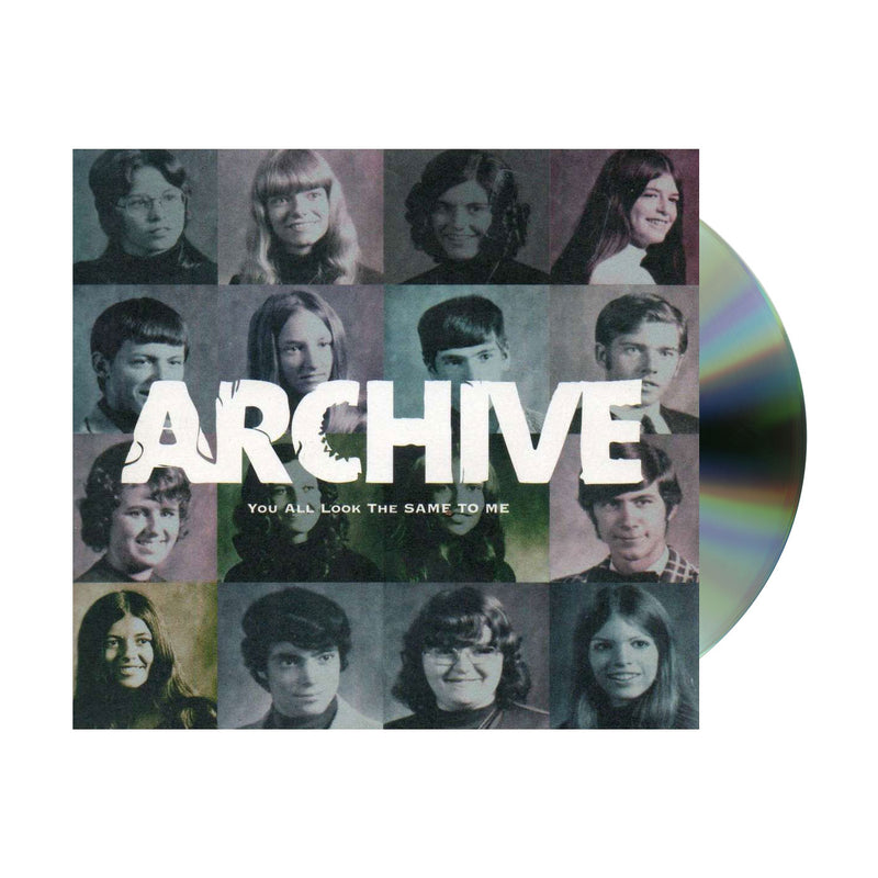 Archive You All Look The Same To Me CD