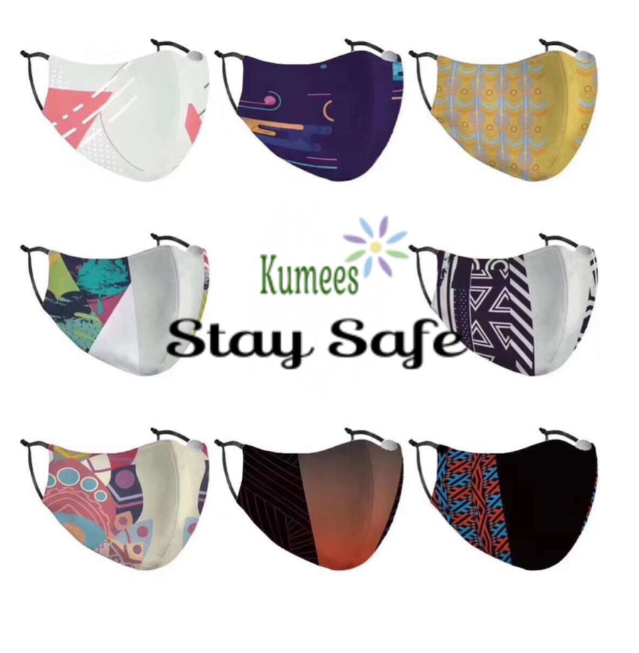 Fashion Face Mask - Best Dust and Wind Proof Mask - Kumees.com