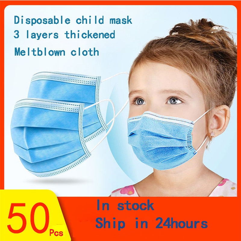Child Anti-droplet Masks